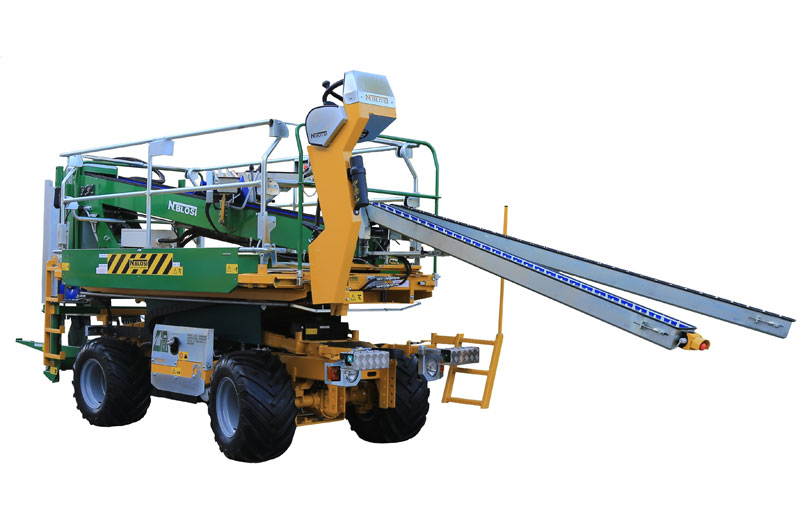 Harvesting conveyor